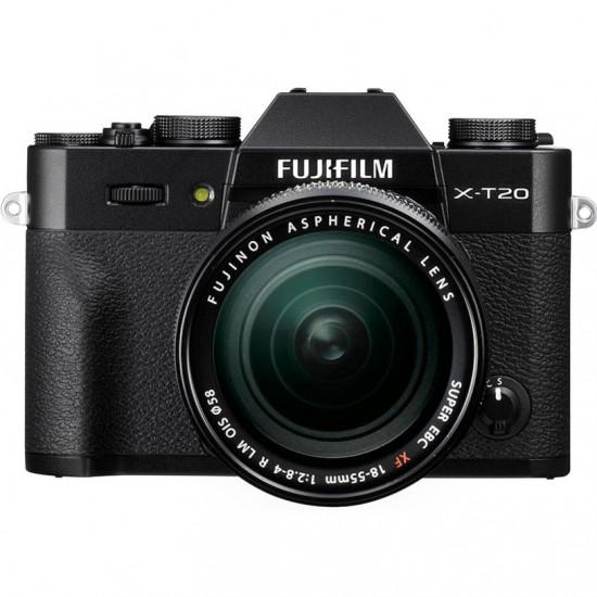 Фотоапарат FUJIFILM  X-T20 Black + XF18-55mm кит