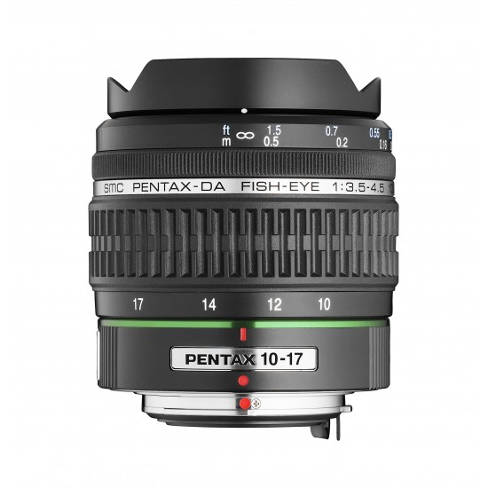 Обектив PENTAX DA 10-17mm Fish-eye F/3.5-4.5 ED (IF)