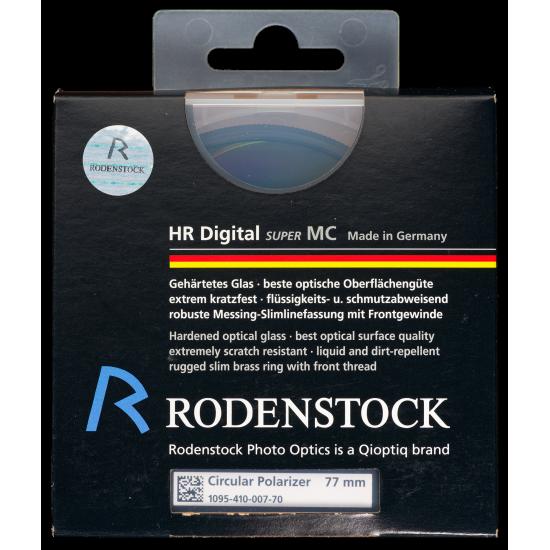 RODENSTOCK HR Digital Polarizer Filter 77mm